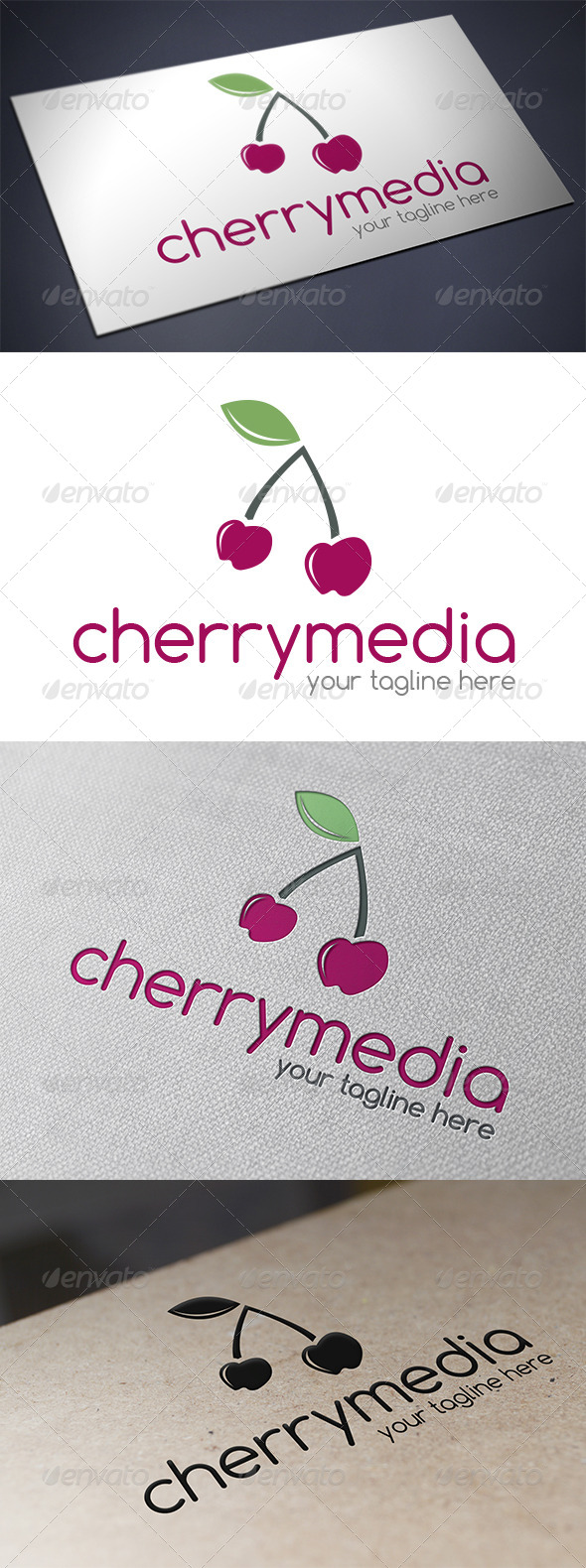 GraphicRiver Cherry Logo Template 5626102