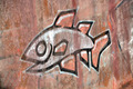Graffiti Fish - PhotoDune Item for Sale