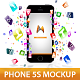 Phone 5s Mockup - GraphicRiver Item for Sale
