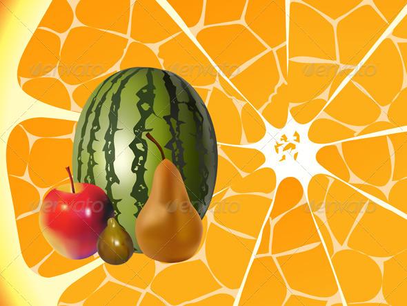 GraphicRiver Autumn Fruits 5631347