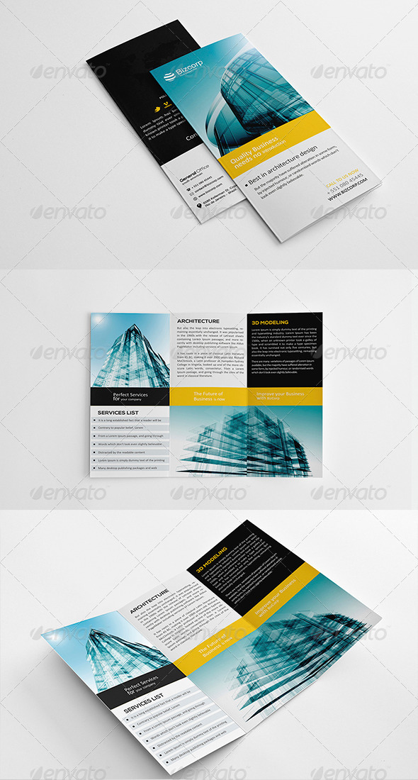 GraphicRiver Architecture TriFold Vol 1 5631349