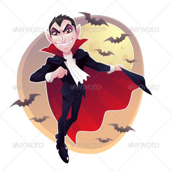 GraphicRiver Mr Vampire 5631355