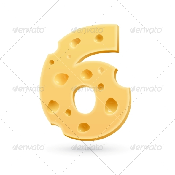 GraphicRiver Six Cheese Number 5631889