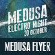 Medusa Electro Flyer - GraphicRiver Item for Sale