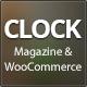 Clock - Magazine & WooCommerce Ready WP Theme