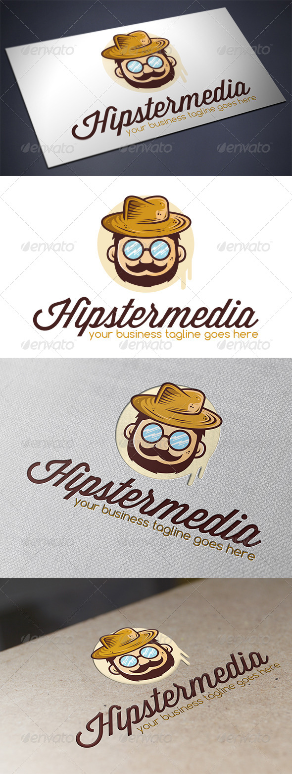 GraphicRiver Hipster Logo Template 5633881