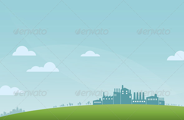 GraphicRiver Industry Landscape 5634398