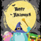 Halloween Monsters Card - GraphicRiver Item for Sale