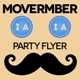 Movember Flyer Vol.1 - GraphicRiver Item for Sale