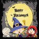 Halloween Kids Card - GraphicRiver Item for Sale