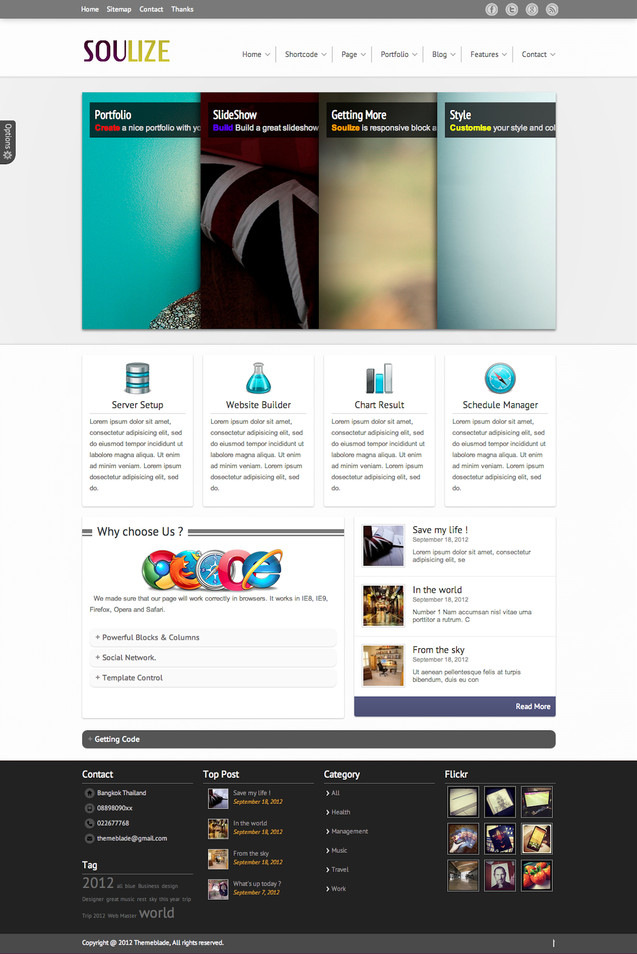 Soulize | Multi-Purpose Wordpress Theme