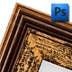 Isolated Picture Frame. - GraphicRiver Item for Sale