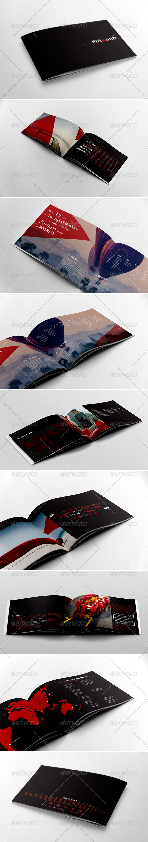 GraphicRiver Business Brochure Template 5636819