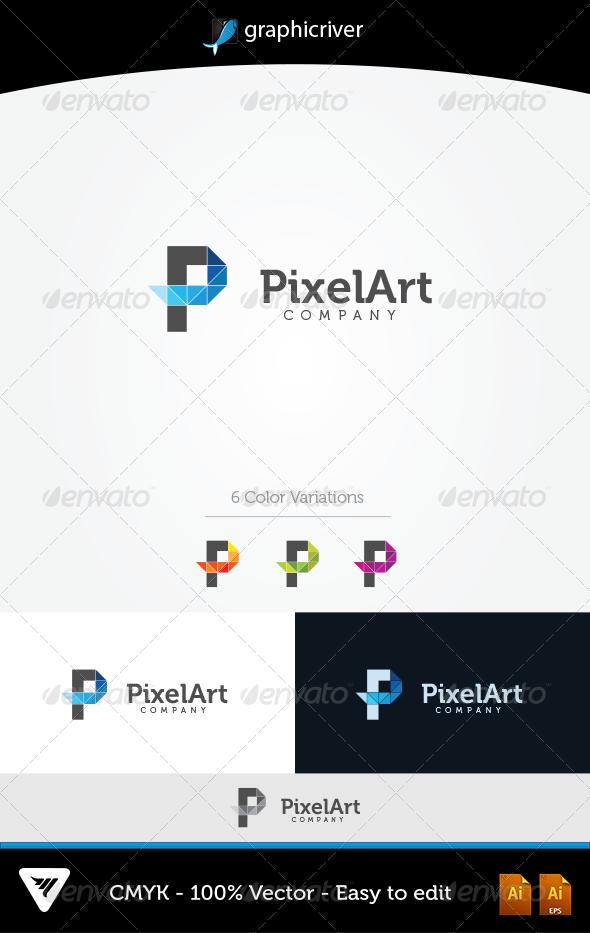 GraphicRiver PixelArt Logo 5637183