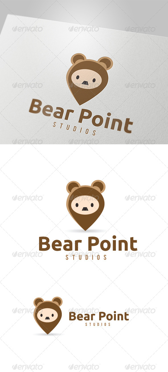 GraphicRiver Bear Point Studio Logo 5637342