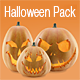 Halloween Pumpkins Pack - 3DOcean Item for Sale