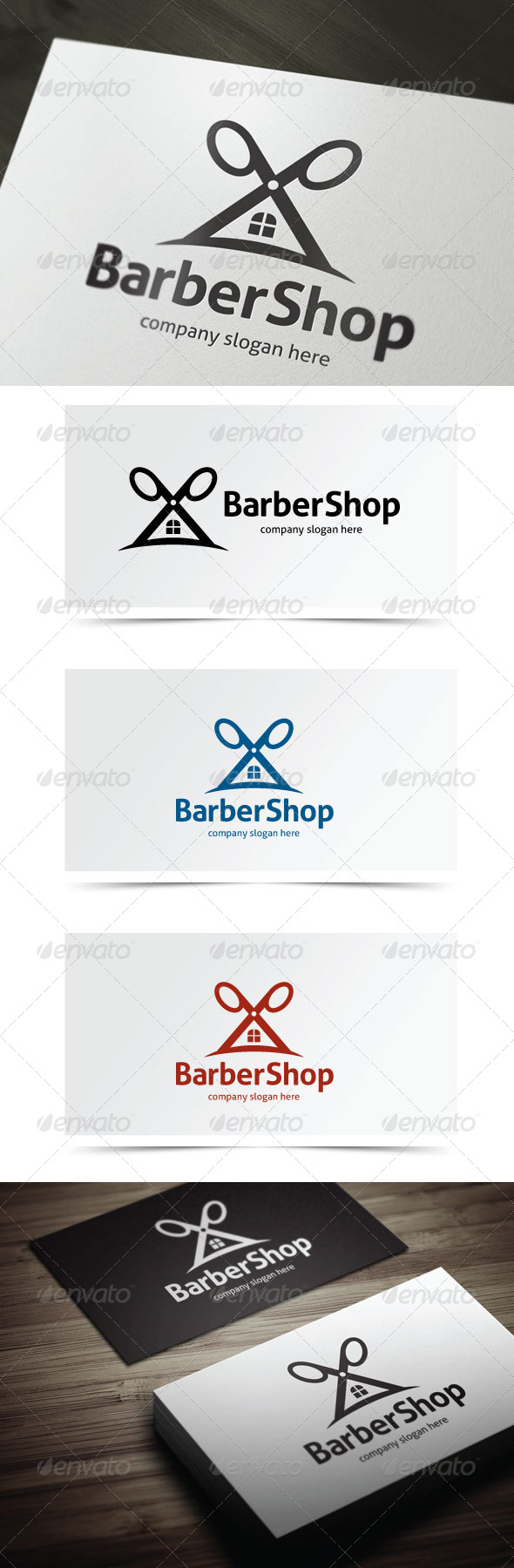 GraphicRiver Barber Shop 5638956