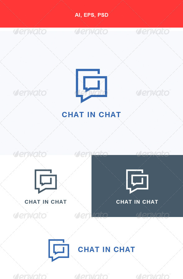 GraphicRiver Chat In Chat Logo 5640440