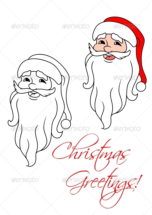 GraphicRiver Funny Santa Claus 5641050