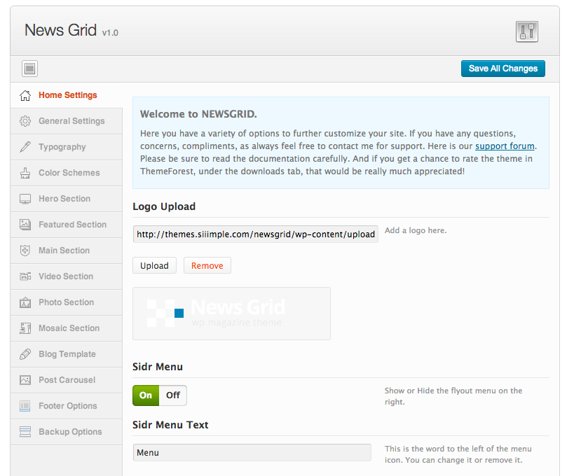 News Grid - WP Magazine Theme