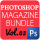 Magazine Template Bundle Vol.3 - GraphicRiver Item for Sale