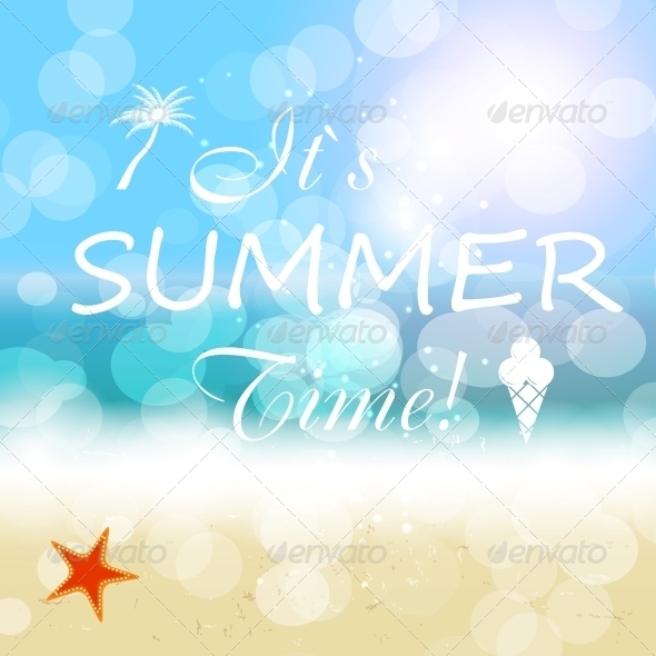 GraphicRiver Summer Holidays Vector Background 5641829