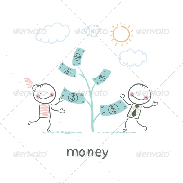 GraphicRiver Man and Money 5641940
