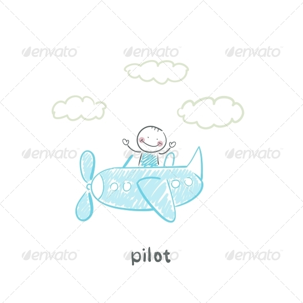 GraphicRiver Pilot 5642063