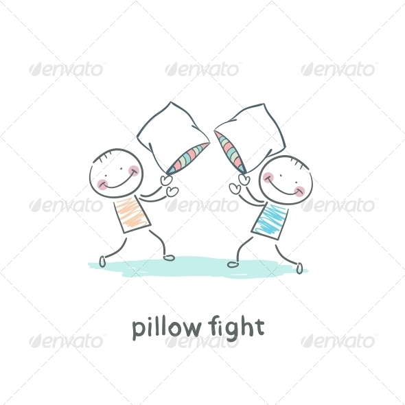 GraphicRiver Pillow Fights 5642236