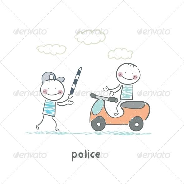 GraphicRiver Police 5642333