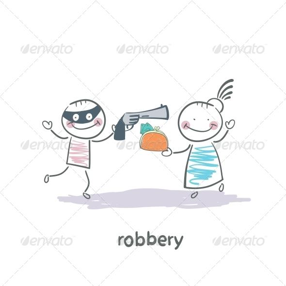 GraphicRiver Robber 5642629