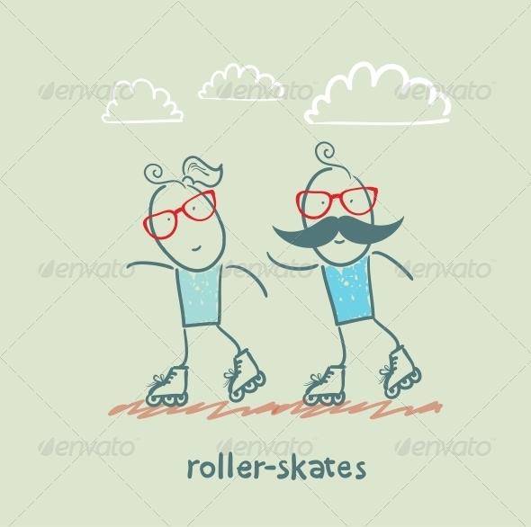 GraphicRiver Roller-Skates 5642645