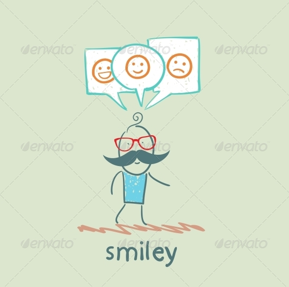 GraphicRiver One Thinks About Smileys 5642710