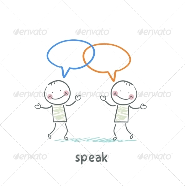 GraphicRiver Speak 5642903