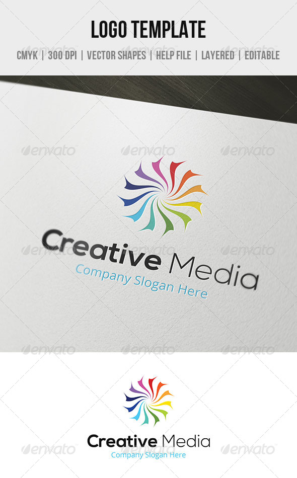 GraphicRiver Creative Media Logo Template 5643024