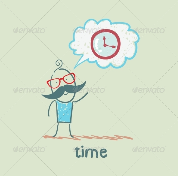 GraphicRiver One Thinks of the Time 5643029