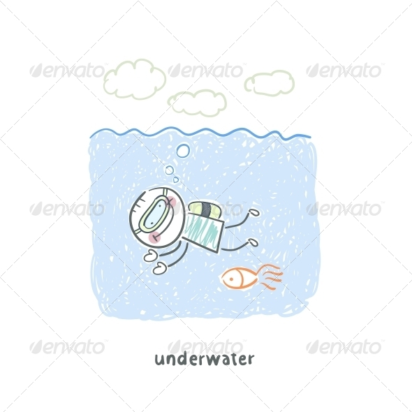 GraphicRiver Diver 5643450