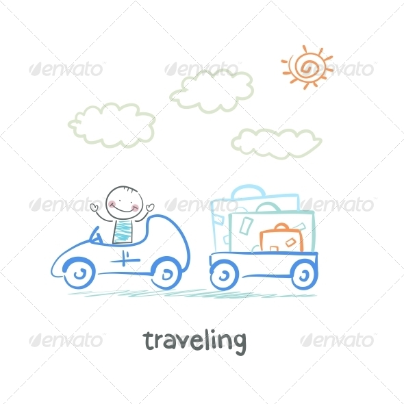 GraphicRiver Traveling 5643452