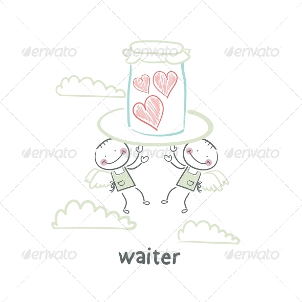 GraphicRiver Waiter 5643473