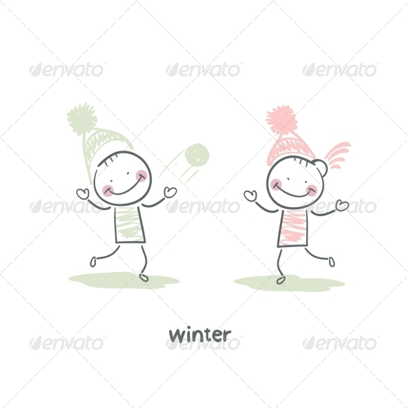 GraphicRiver Winter Walk 5643562