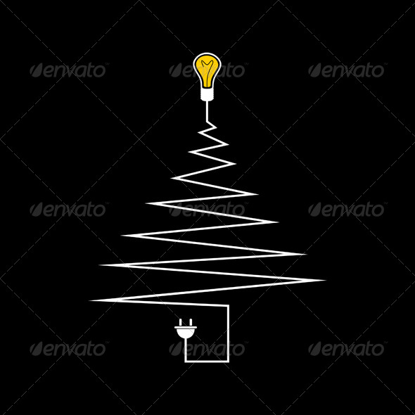 GraphicRiver Electric Christmas Tree 5643964