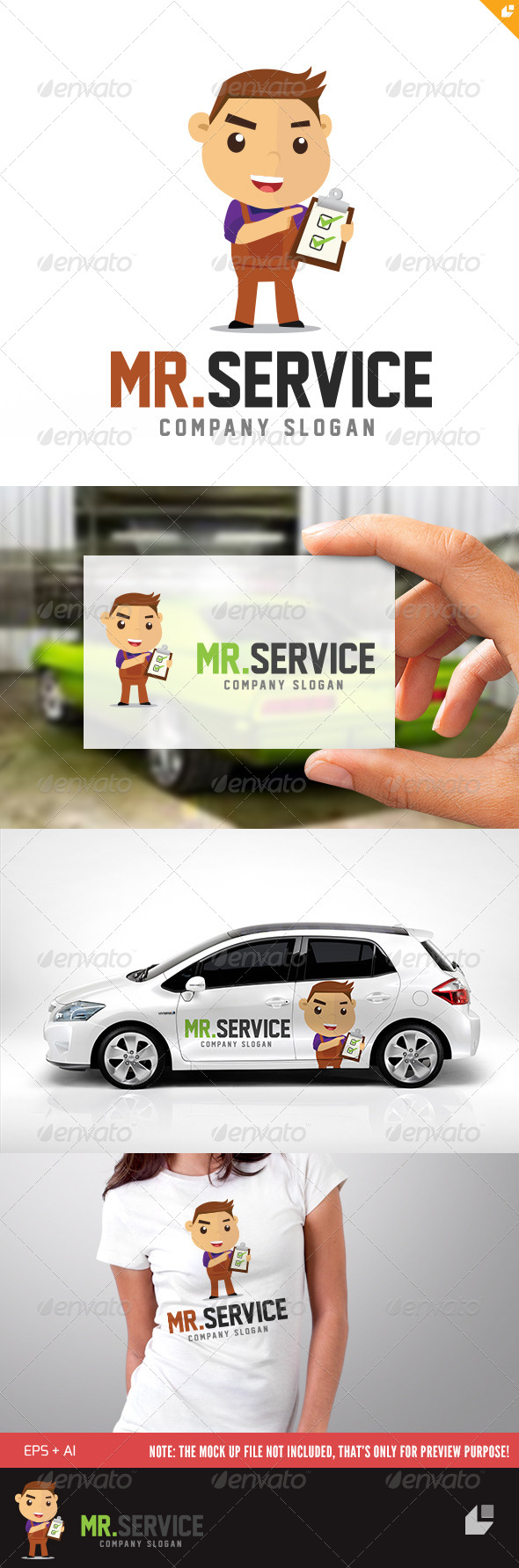 GraphicRiver Mr Services Logo 5637220