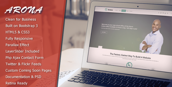 ThemeForest Arona Creative Business Theme 5646227