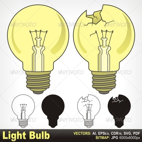 GraphicRiver Light Bulb 5646431