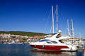 Luxury Yachts On The Marina  - PhotoDune Item for Sale