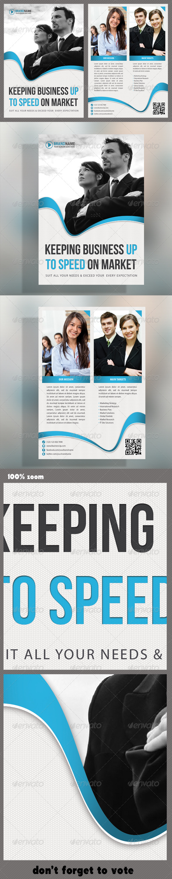 Corporate Product Flyer 25 - Print Templates