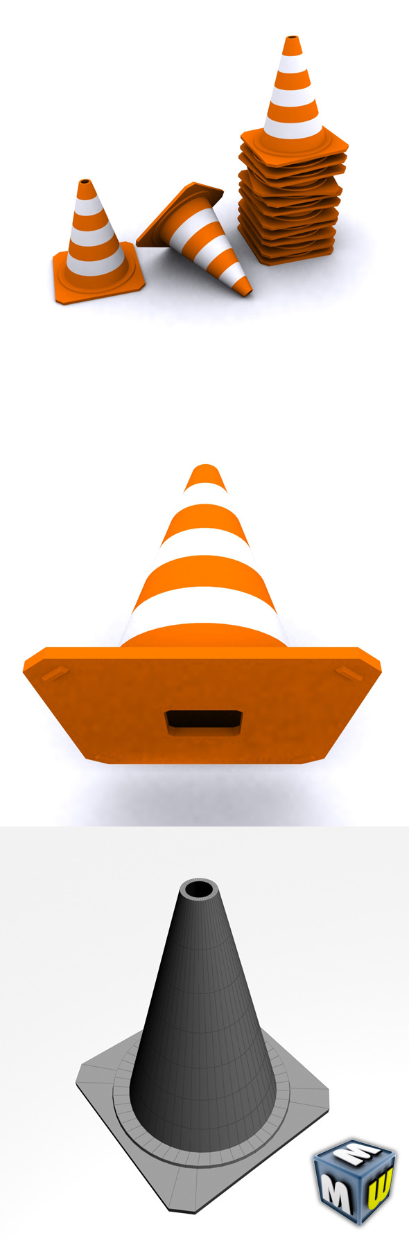 3DOcean Traffic Cone Max 2010 5648163
