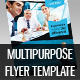 Multipurpose Business Flyer Template Vol 4 - GraphicRiver Item for Sale