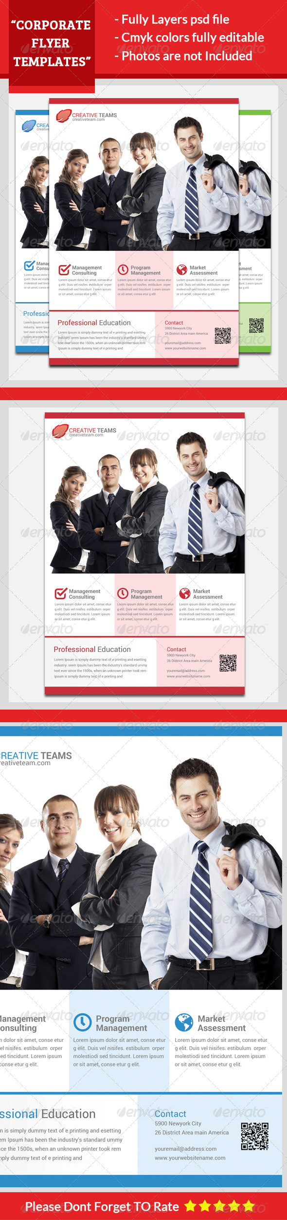 GraphicRiver Corporate Flyer Template 5648210