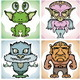 Monsters Icons - GraphicRiver Item for Sale
